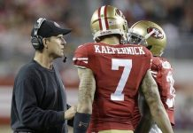Kaepernick fined for racial slurs