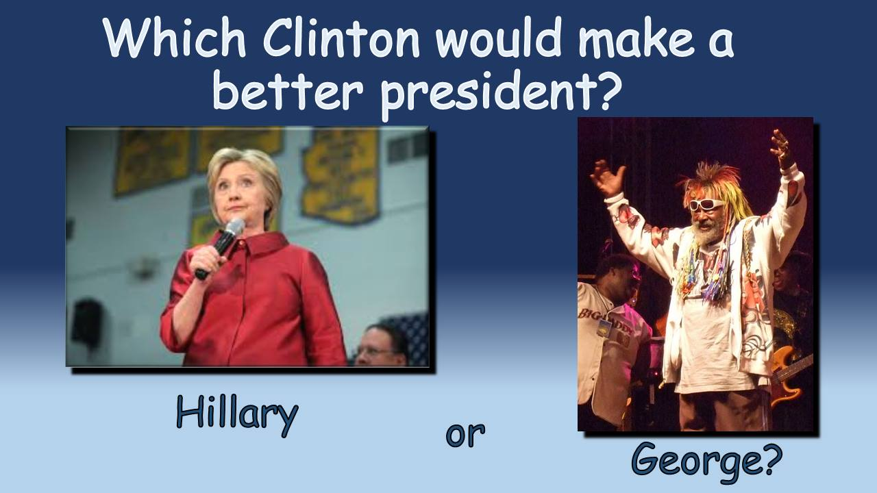 which Clinton would you vote for?