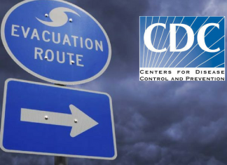 cdc recommends evacuation