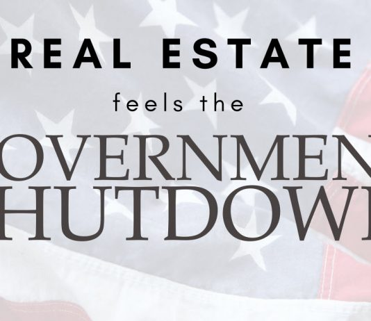 the real estate market feels the government shutdown