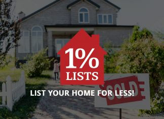 Sell Your Home Cheap with 1 percent lists